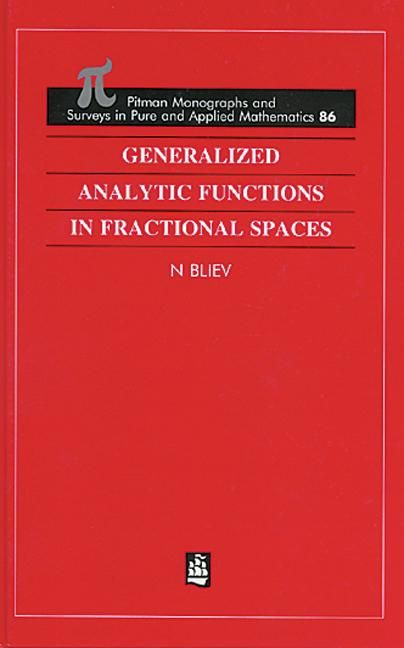 Resultado de imagen de generalized analytic functions