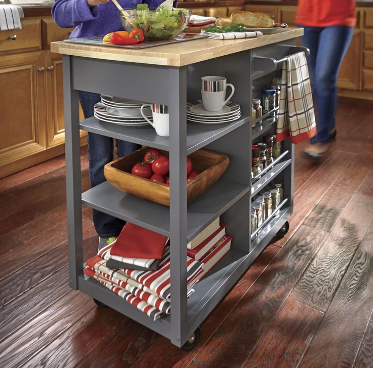 17 Best Ideas About Portable Island For Kitchen On