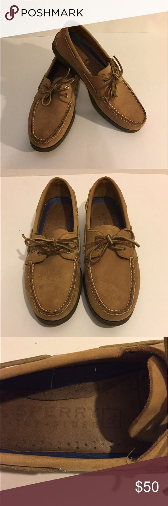 Sperry Topsiders Authentic Orginal 2-eye boatshoe VGUC. Size ten, some superficial scuffs, can be removed with shoecare. Sperry Top-Sider Shoes Boat Shoes