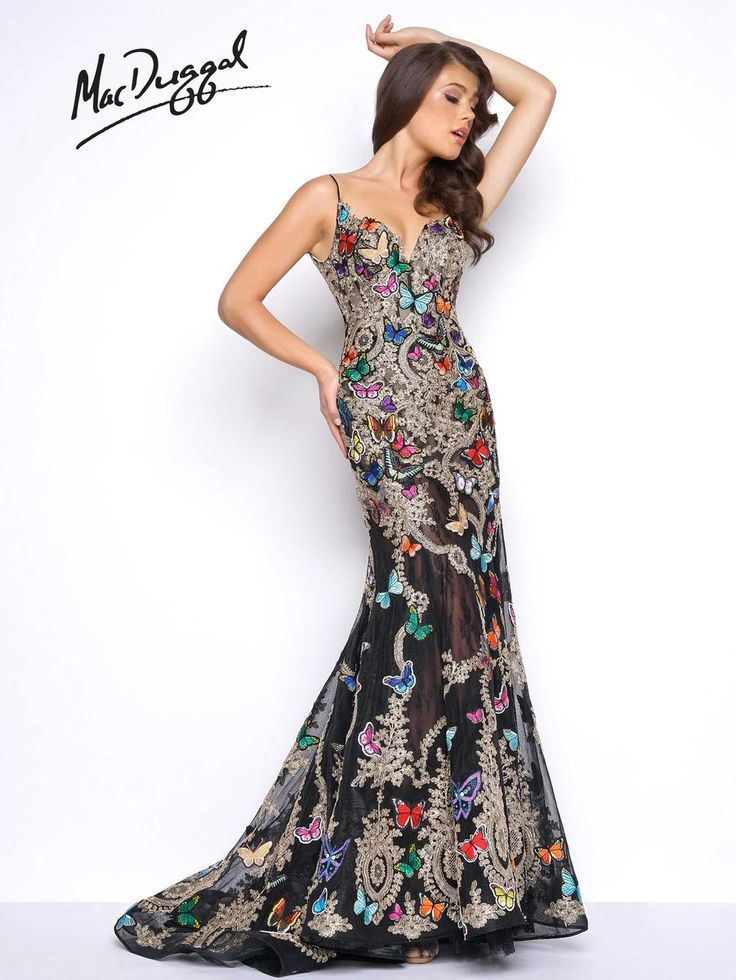 30 best Mac Duggal Prom - Spring 2017 images on Pinterest | Party ...