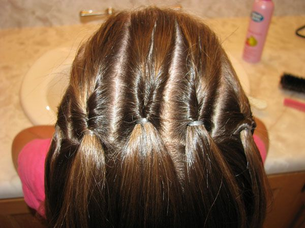Great quick ideas for little girl's hair.