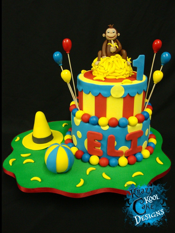curious george birthday cake 17 best ideas about curious george cupcakes on 3236