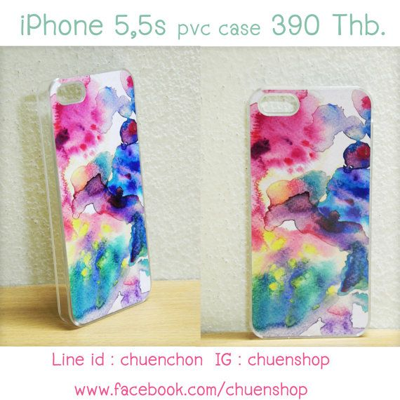 Watercolor painting printed case. Artwork title by ChuenShop, ฿390.00 - 450.00