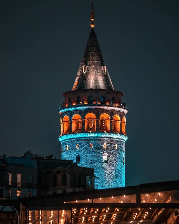 Istanbul is pure magic and the glorious Galata Tower is proof!⠀ ⠀ :aytekogreten/IG