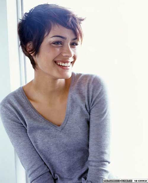 6.Long Pixie Cut