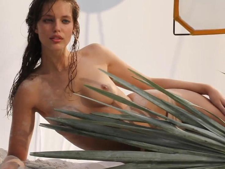 Emily DiDonato Topless Wicked Hotness Behind the Scenes Of Her Armani Perfume Shoot