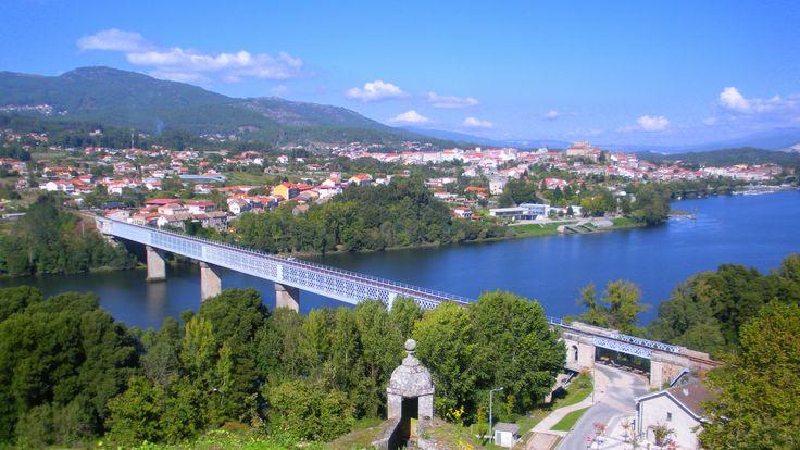 Tui, Pontevedra. Inicio del Camino Portugués en Galicia