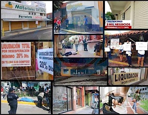 Guerrero en manos de la delincuencia organizada. Más ahora que se vienen las elecciones la violencia se incrementará, no existe la menor duda.