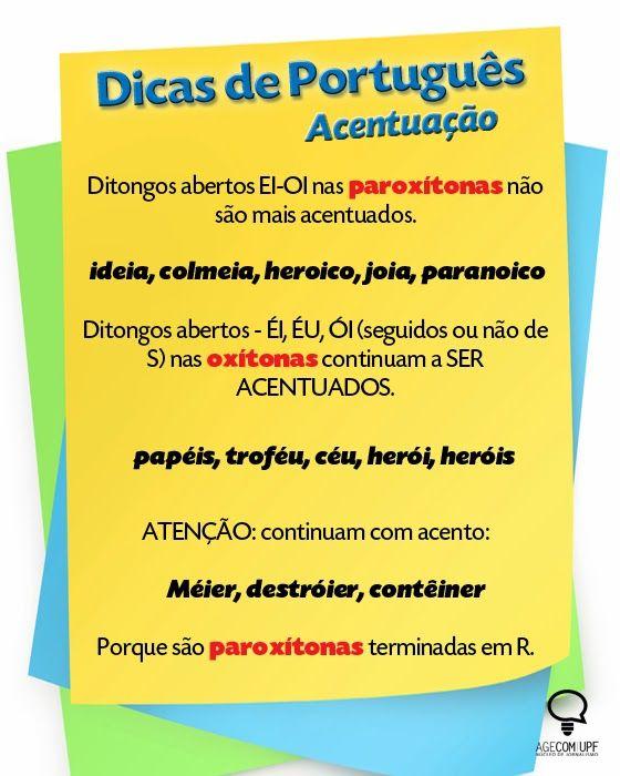 Português na tela: #dicasdasemana: AcEnTuAçÃo