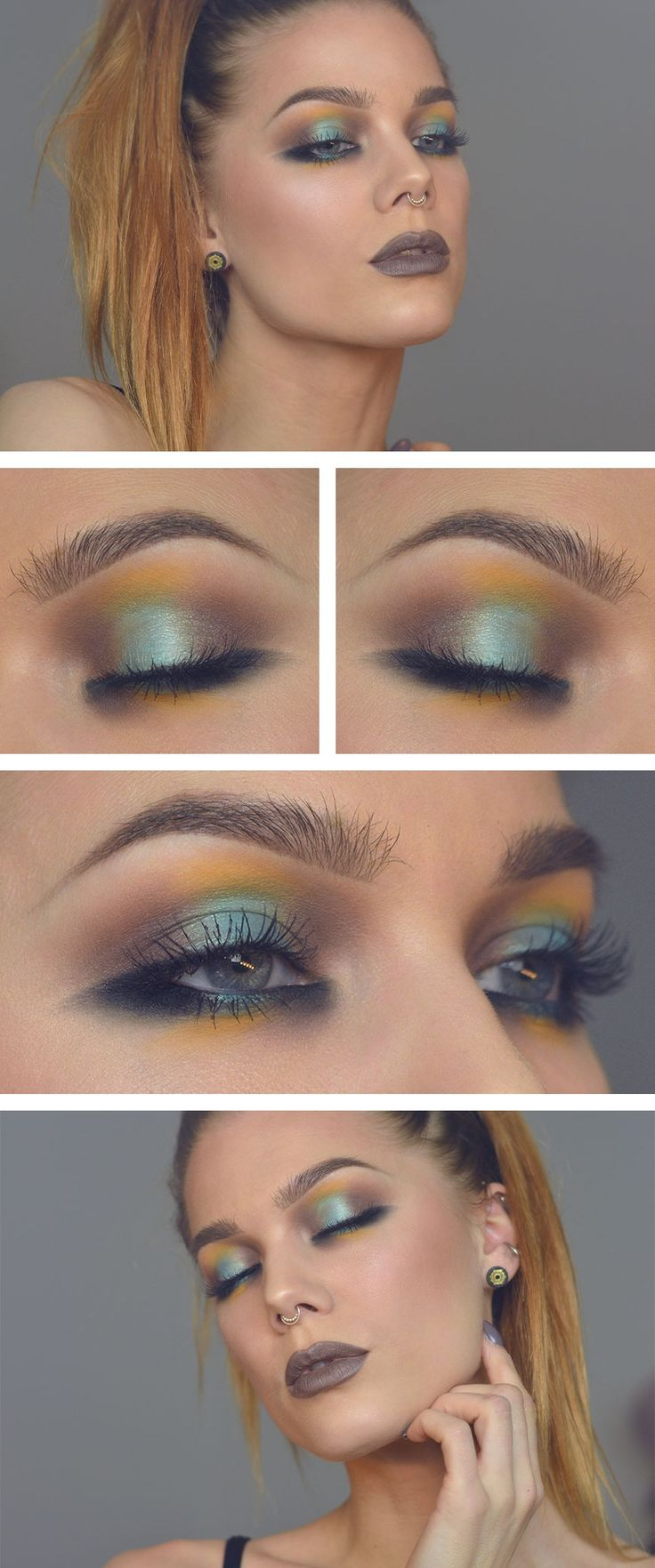 Todays look Tropical blend