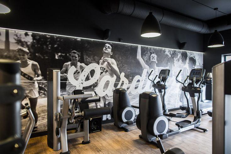 Jesteś zwycięzcą! ;) Level Up Fitness, Wrocław. Projekt wnętrz: Małgorzata Konicka i Patrycja Dąbrowska (pracownia 28form). Foto i grafika: Mateusz Gzik.