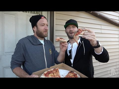 Barstool Pizza Review - Santarpio's Pizza (Boston) With Special Guest Julian Edelman - YouTube