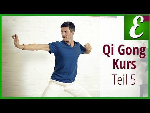 Qi Gong Übungen für Anfänger: Qigong Kurs Teil 5 - YouTube