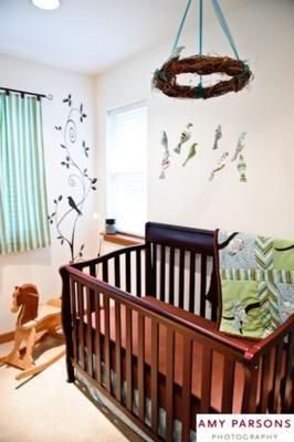 I Love A Bird Nursery Themed Room Is My Current Favorite. Love The Willow  Wreath