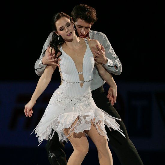 Tessa Virtue and Scott Moir Sexy Skating Pictures