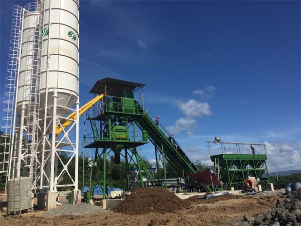 HZS60 ready mix concrete mixing plant price http://batchingplantng.com/concrete-batching-plant/hzs60-concrete-batching-plant-sale.html