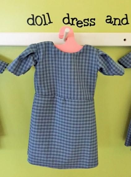 Amish Doll Dress with Optional Apron