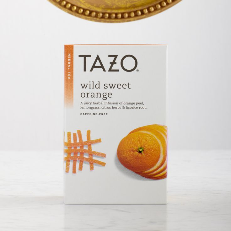 A juicy herbal infusion of orange peel, lemongrass, citrus herbs and licorice root. #Tazo  http://www.tazo.com/Product/Detail/17