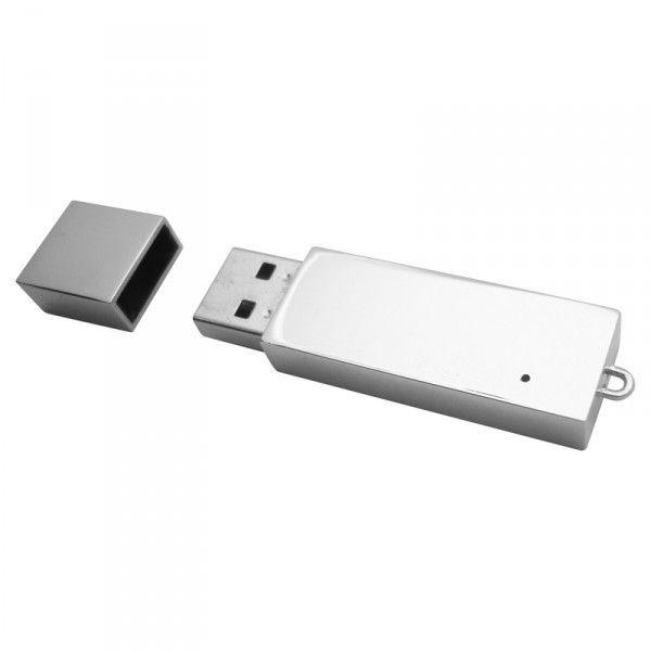 SLIMLINE METAL DRIVE – AR243  Sleek Chrome body, Grade A memory,10 Year warranty on data retention, 1 year replacement warranty on faulty manufacture.#USB #Metal Flash Drive