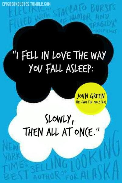 TFIOS : saya mengalami keluhan umum seperti kebanyakan orang yang telah membaca buku ini, yaitu : Hujan. well, its ok.. i guess. Meromantisasikan kematian seorang tokoh utama merupakan salah satu cara paling efektif untuk membuat para pembaca mendadak cengeng. Standing applause to john green !