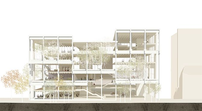 Kingston University - Grafton Architects