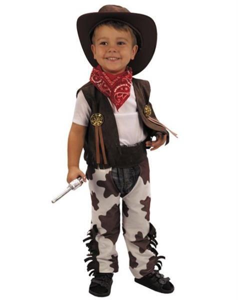 Детский карнавальный костюм ковбой со шляпой