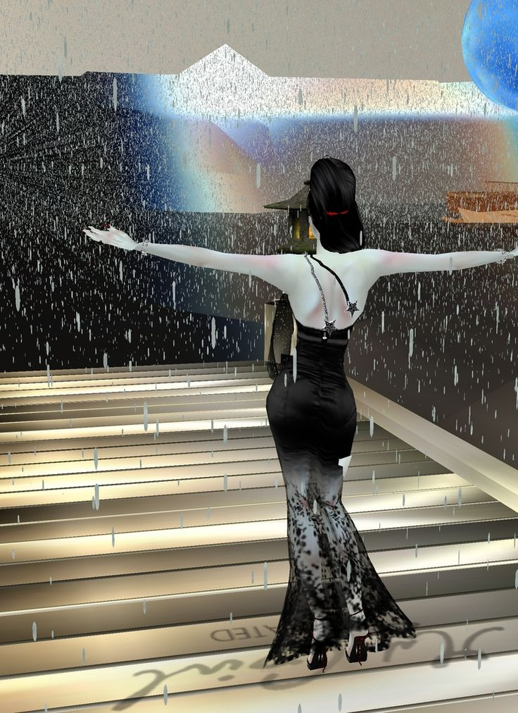 Captured Inside IMVU - Join the Fun!adore' la lluvia