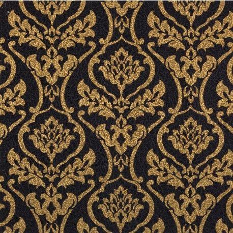 15 Must-see Gold Damask Wallpaper Pins | Damask wallpaper ...