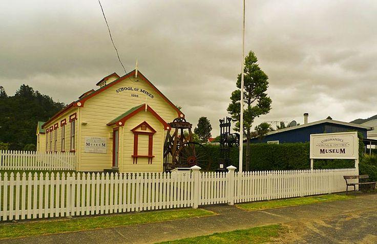 Coromandel School of Mining Museum, see more at New Zealand Journeys app for iPad www.gopix.co.nz