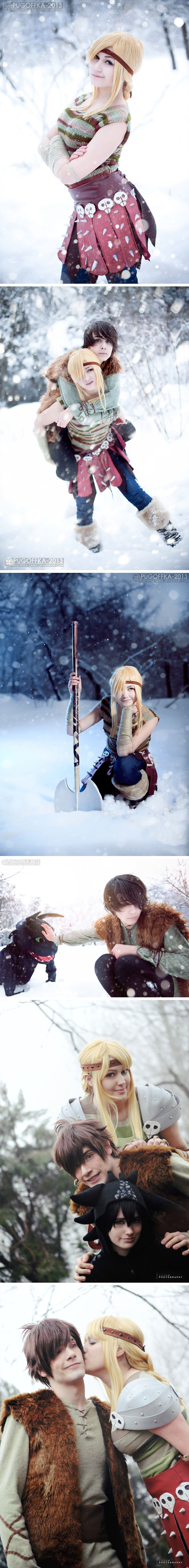 Astrid, How to Train Your Dragon | http://pugoffka-sama.deviantart.com/art/Astrid-How-to-Train-Your-Dragon-356981357#