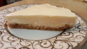 Japanese Rare Tofu Cheesecake! Recipe on www.bakingalchemy.com/japanese-tofu-rare-cheesecake-no-bake