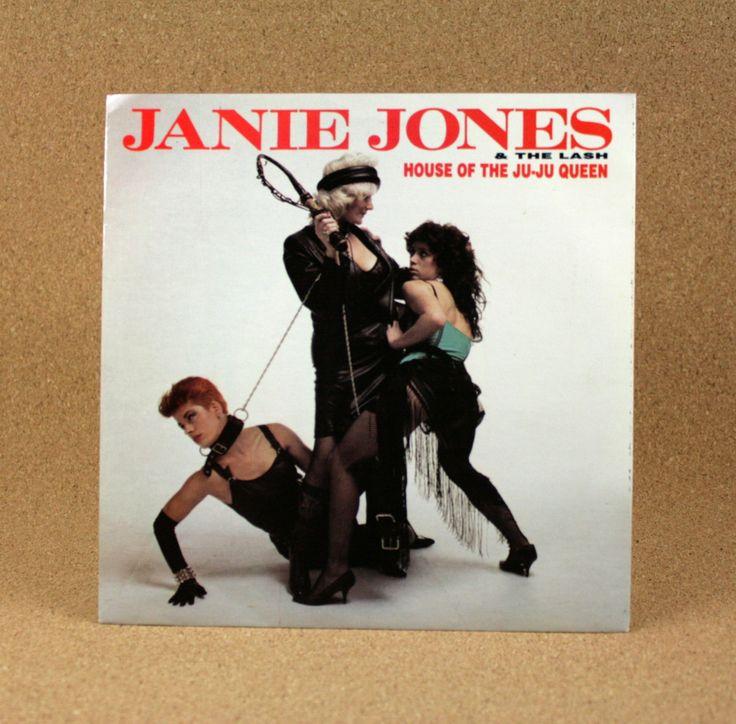 Joe Strummer, Mick Jones, The Clash, Janie Jones and The Lash - House of The Ju-Ju Queen Album - Near Mint by N2THEATTIC on Etsy