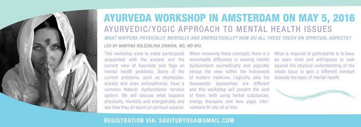 Flyer for Ayurveda Workshop (Front)