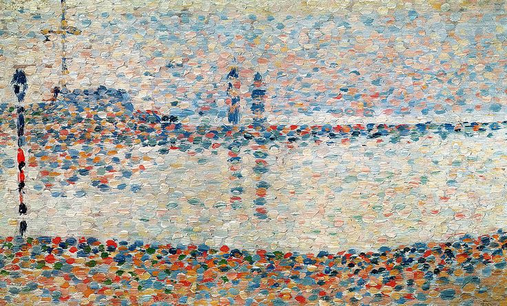 Study For The Channel At Gravelines Evening, Georges Seurat