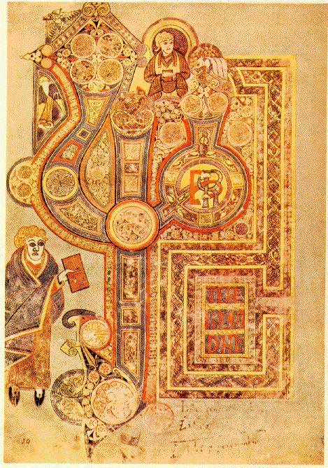 Book of Kells ImageBook of Kells Imagean anonymous 17th century hermetic alchemy manuscript called 'Explicatio ...    bibliodyssey.blogspot.com  Wikimedia
