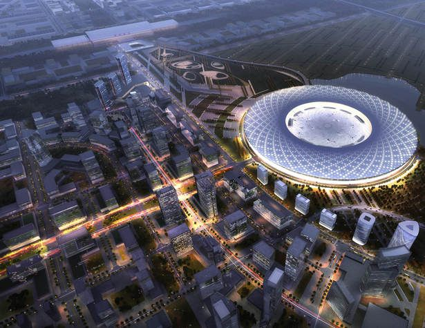 Zhengzhou Convention and Conference Center | AECOM Los Angeles Design Studio | Archinect