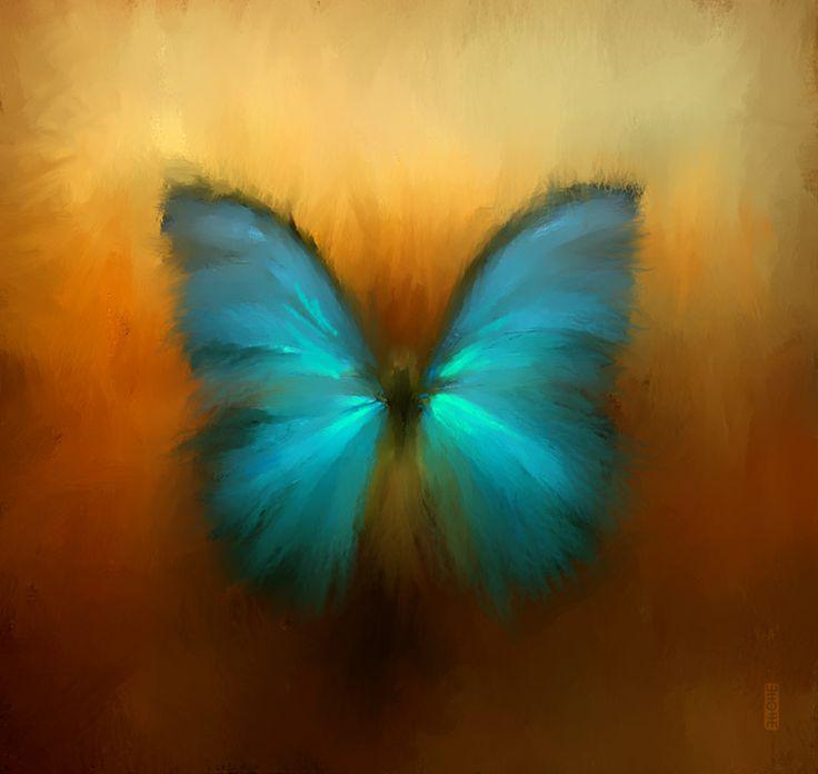 yasminacreates: Butterfly by *RHADS