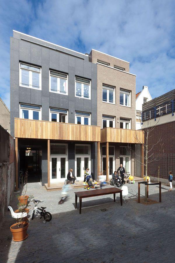 Bastiaan Jongerius diseña un condominio para seis familias en el centro de Amsterdam.