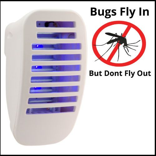 Plug-in Mosquito Zapper with Nightlight (2-Pack)