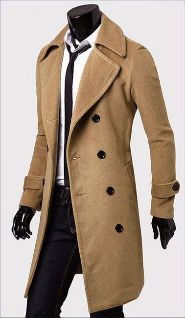 Men's Trench Coat - Coat Jacket - eDealRetail - 7