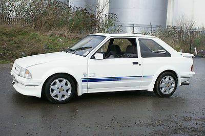1985 FORD ESCORT RS TURBO WHITE SERIES 1    - http://www.fordrscarsforsale.com/4707