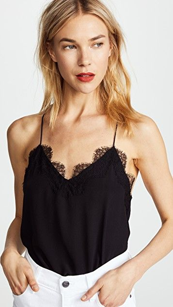 Lace cami.