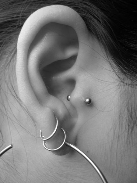 Tragus Piercings For Women Image Readmore http://tattoosclick.com/tragus-piercing-for-women/