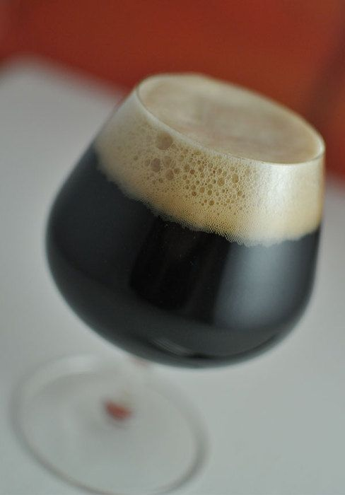 Kentucky Breakfast Stout homebrew recipe is a imperial oatmeal stout, brewed with coffee and chocolate, and aged with bourbon and wood chips for 6 months.
