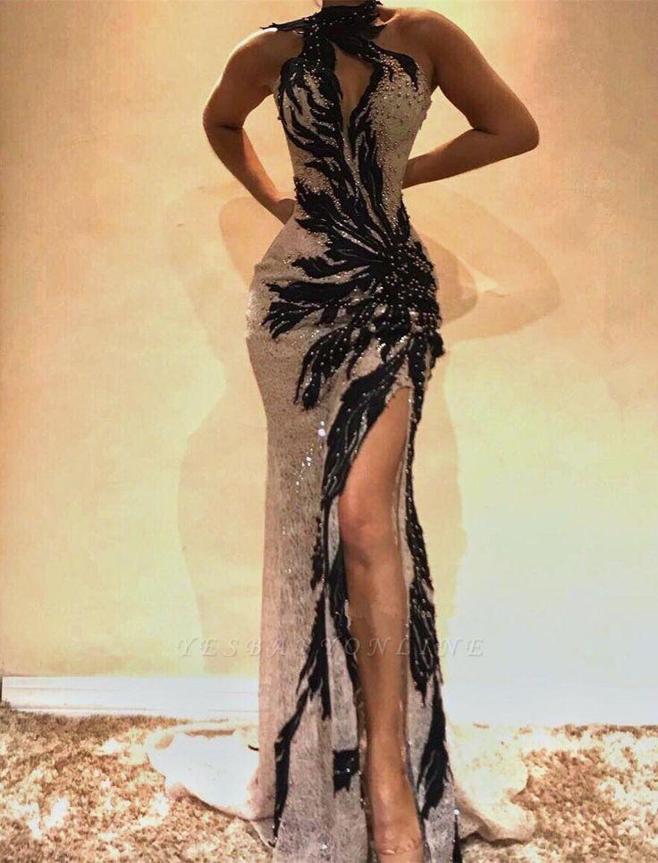 Trendy Ballkleider #prom #promdresses #mermaid #twopiece #ballgown