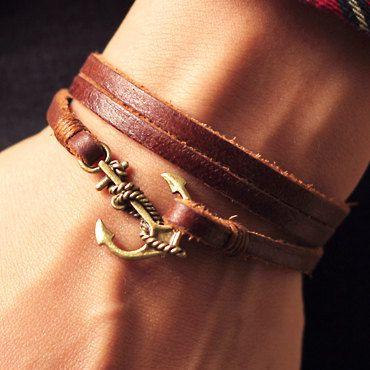 Anchor Hook,Nautical Anchor Bracelet,Anniversary, Birthday Gift,Graduation Gift