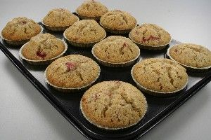 Jordbær muffins I 4