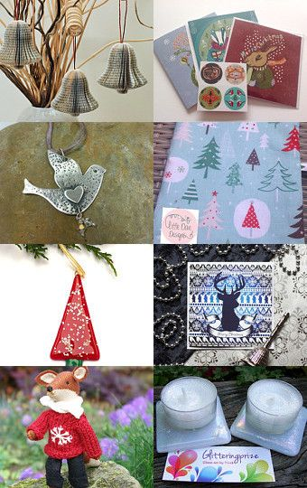 Its Christmas!  by Kirri Raper on Etsy--Pinned with TreasuryPin.com