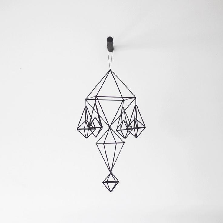 I need this, but I have no idea where I would put it. himmeli no. 11 / hanging mobile / modern geometric sculpture