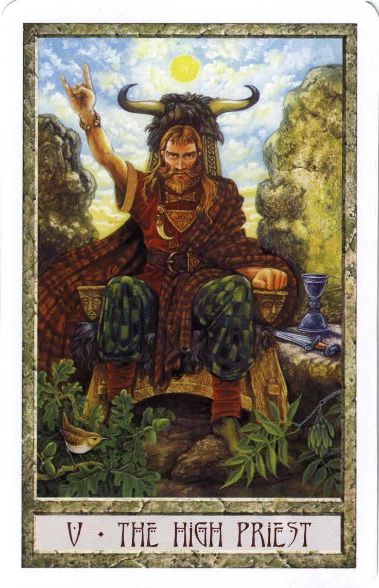 Druidcraft Tarot By Stephanie And